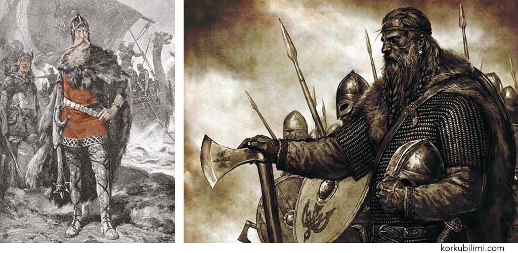 Sewn Forkbeard viking