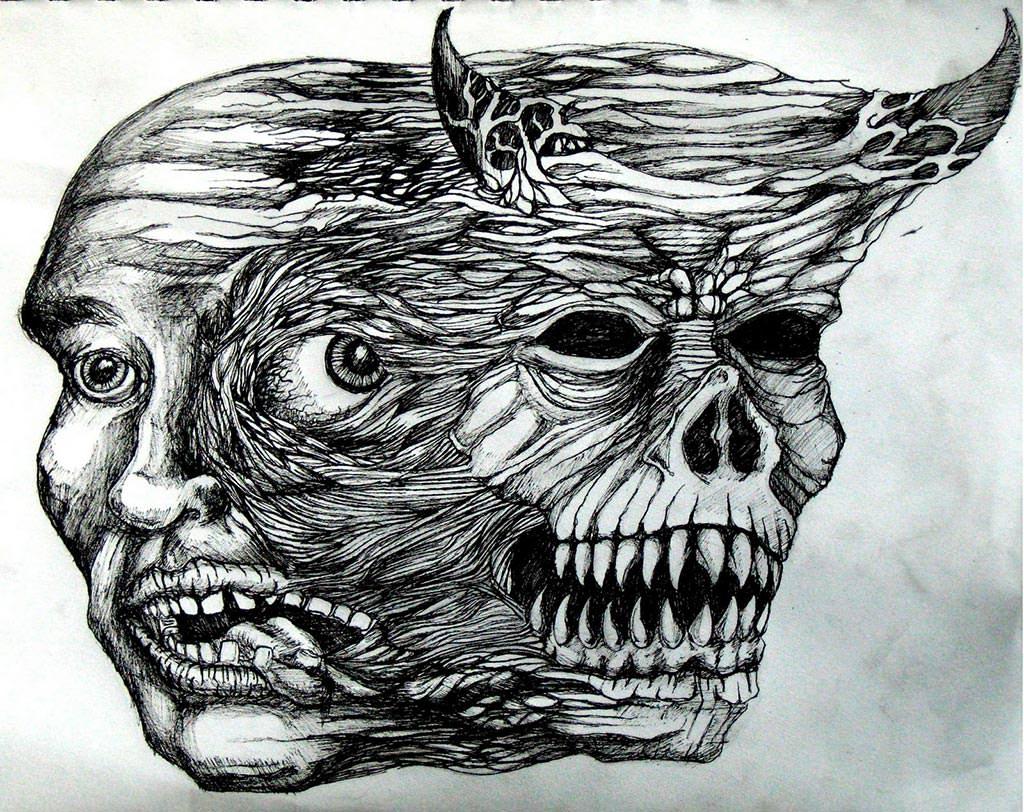 şizofreni şeytan