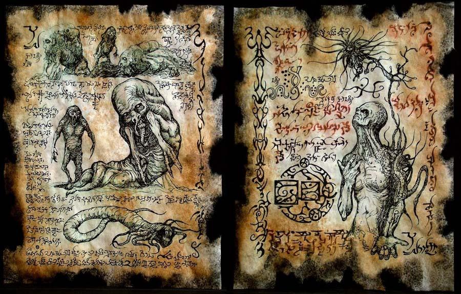 """Tarihin En Tehlikeli Kitabı """"Necronomicon'un Gizli Gerçeği"""""""