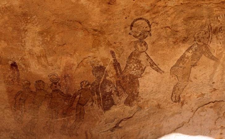 Tassili n'Ajjer Bölgesi ve Uzaylıların Varlığıyla İlgili Kanıtlar